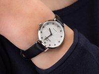 Zegarek damski klasyczny Bisset Klasyczne BSAF29SISX03BX szkło szafirowe - duże 4