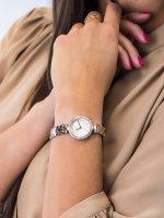 Zegarek damski klasyczny DKNY Bransoleta NY2827 szkło mineralne - duże 3