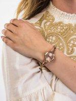 Zegarek damski klasyczny DKNY Bransoleta NY2831 szkło mineralne - duże 3