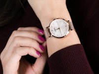 Zegarek damski klasyczny Lorus Klasyczne RG250PX9 szkło mineralne - duże 4
