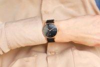 Meller W3R-2BLACK Denka Denka Roos Black zegarek damski klasyczny mineralne z powłoką szafirową