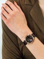 Zegarek damski klasyczny Orient Contemporary RA-AG0023Y10B Classic Open Heart Automatic  szkło mineralne - duże 3