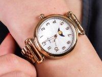 Zegarek damski klasyczny Timex Model 23 TW2T89400 szkło mineralne - duże 4