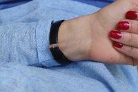 Michael Kors MK2835 zegarek różowe złoto klasyczny Pyper pasek