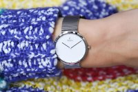Zegarek damski Obaku Denmark bransoleta V230LXCWMC - duże 2