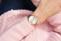 Pierre Ricaud P22061.9113Q zegarek różowe złoto klasyczny Bransoleta bransoleta