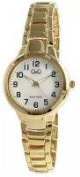 Zegarek damski QQ damskie F499-803 - duże 1