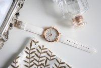 Zegarek damski QQ damskie Q892-111 - duże 2