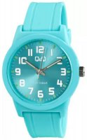 Zegarek damski QQ damskie VR35-814 - duże 1