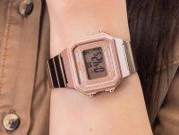 Zegarek damski retro Casio VINTAGE Maxi B650WC-5AEF szkło akrylowe - duże 4