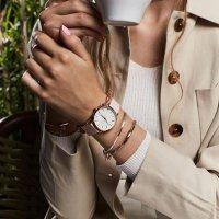 Rosefield SHPWR-H37 damski zegarek Gloss pasek