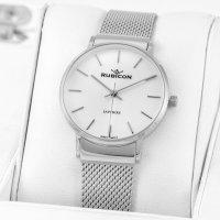 Zegarek damski Rubicon bransoleta RNBE28SISX03BX - duże 3