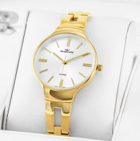 Zegarek damski Rubicon bransoleta RNBE31GISX03BX - duże 3