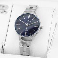 Zegarek damski Rubicon bransoleta RNBE31SIDX03BX - duże 3