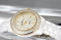 Zegarek damski Rubicon bransoleta RNPD25TWGX03BX - duże 2