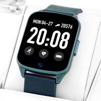 Rubicon RNCE42DIBX01AX zegarek niebieski sportowy Smartwatch pasek