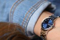 Skagen SKW2789 zegarek srebrny klasyczny Freja bransoleta