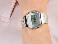 Zegarek damski sportowy Casio VINTAGE Maxi A168WEM-7EF MIRROR FACE szkło mineralne - duże 4