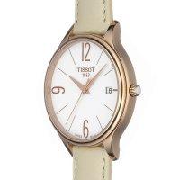 Tissot T103.210.36.017.00 zegarek różowe złoto klasyczny Bella Ora pasek