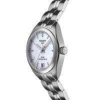 Tissot T101.207.11.116.00 zegarek srebrny elegancki PR 100 bransoleta