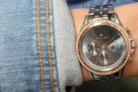 Tommy Hilfiger 1781976 zegarek srebrny fashion/modowy Damskie bransoleta