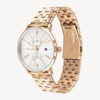 Tommy Hilfiger 1782070 zegarek różowe złoto fashion/modowy Damskie bransoleta