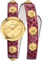 Zegarek damski Versace medusa stud icon VERF00218 - duże 1