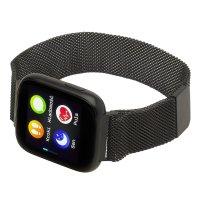 Garett 5903246287141 zegarek czarny sportowy Damskie bransoleta