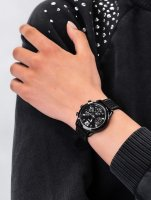 Zegarek damski z tachometr Guess Pasek W1025L3 - duże 3