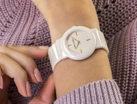 Zegarek fashion/modowy Anne Klein Bransoleta AK-2834LPGB - duże 4