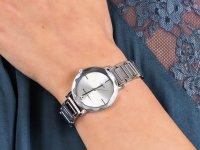Zegarek fashion/modowy Anne Klein Bransoleta AK-3279SVSV - duże 4