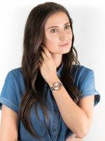 Zegarek fashion/modowy Anne Klein Pasek AK-3380RGLG - duże 2