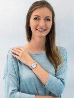 Zegarek fashion/modowy Cluse Le Couronnement CL63001 Rose Gold White/Soft grey - duże 2