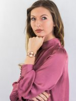 Zegarek fashion/modowy Guess Bransoleta W1083L3 - duże 2