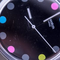 Zegarek fashion/modowy Swatch Originals GB305-POWYSTAWOWY BOULE A FACETTE - duże 4
