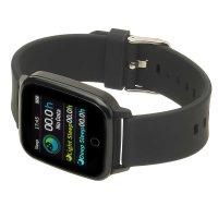 Garett 5903246286397 zegarek czarny sportowy Damskie pasek