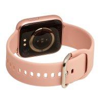 zegarek Garett 5903246287110 kwarcowy damski Damskie Smartwatch Garett Women Eva RT różowy