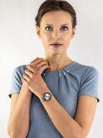 Zegarek klasyczny Anne Klein Bransoleta AK-2989SVSV - duże 2