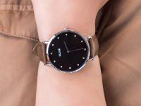 Zegarek klasyczny Cluse La Boheme CL18603 Silver Black/Brown - duże 4