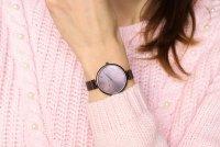 Pierre Ricaud P22061.011GQ zegarek fioletowy klasyczny Bransoleta bransoleta