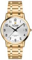 Zegarek męski Le Temps flat elegance LT1087.81BD01 - duże 1