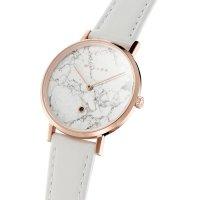 Meller W1R-1WHITE zegarek różowe złoto klasyczny Astar pasek