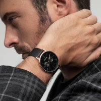 Zegarek męski Bering classic 14240-163 - duże 2