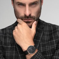 Zegarek męski Bering classic 14240-163 - duże 3