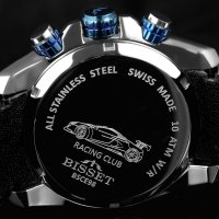 zegarek Bisset BSCE98SIDX10AX MONZA RACING męski z chronograf Sportowe