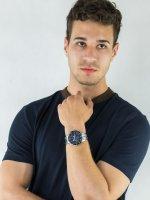 Zegarek męski Casio EDIFICE Momentum EFR-556DB-2AVUEF - duże 2