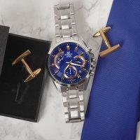 Zegarek męski Casio EDIFICE edifice momentum EFV-580D-2AVUEF - duże 3