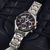 Zegarek męski Casio EDIFICE edifice momentum EFV-580D-2AVUEF - duże 2
