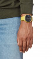 G-Shock GA-2110SU-9AER zegarek żółty sportowy G-Shock pasek