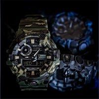 Zegarek męski Casio G-SHOCK g-shock GA-700CM-8AER - duże 7